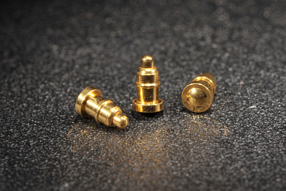 假雙頭單Pin Pogo Pin連接器